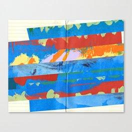 Tape Diary 4 Canvas Print