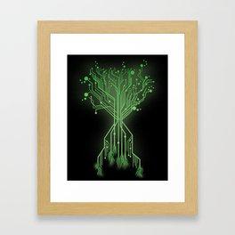 CircuiTree Framed Art Print