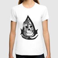assassins creed T-shirts featuring assassins creed logo by  Steve Wade ( Swade)