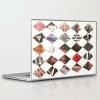 diamonds Laptop & iPad Skins featuring DIAMONDS by Brandon Neher