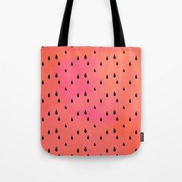Watermelon rain Tote Bag