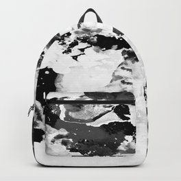 Blk Marble Backpack