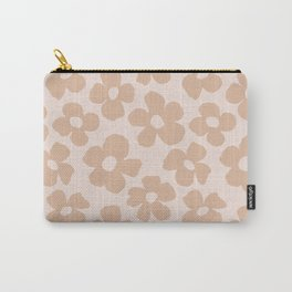 Maxi florals in sandy beach Carry-All Pouch