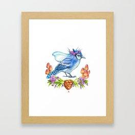 Jay Bride Framed Art Print