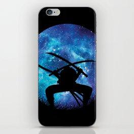 Zoro Silhouette Hunter iPhone Skin