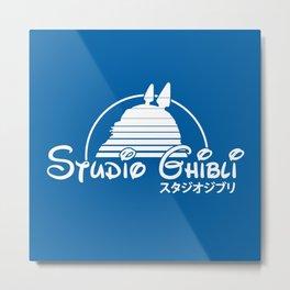 studio ghibli. Metal Print