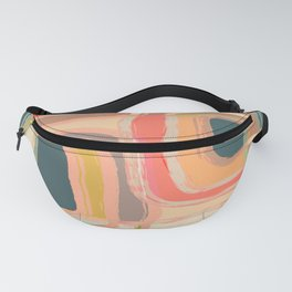 Abstract Windows Fanny Pack