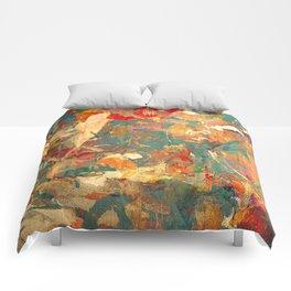 Piccolo Uccello in Fitto Bosco Comforters