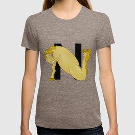 Pony Monogram Letter N T-shirt