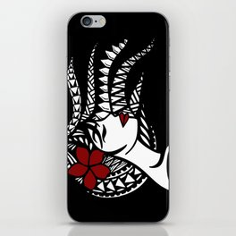 Tribal Girl 1 iPhone Skin