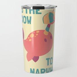 Get Flow - Coral & Cream Travel Mug