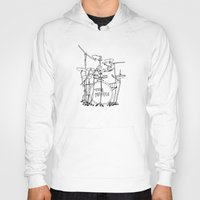 drums Hoodies featuring The Police Drums by OUTSIDE VOICE