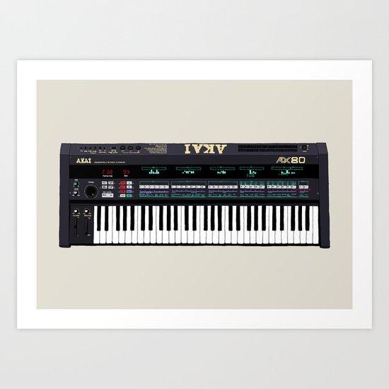 Akai AX80 Art Print