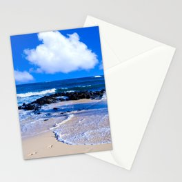 Hawaiian beach2 Stationery Cards