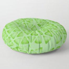 Irregular green Floor Pillow