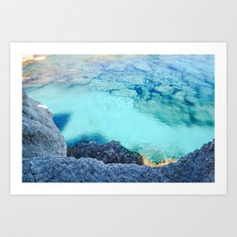 Cyprus Sea I Art Print