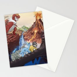 Movie Poster - The Land Before Time Stationery Cards