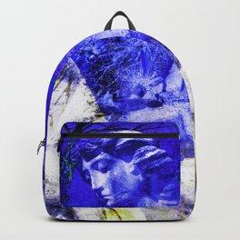 Blue Symphony of Angels Backpack