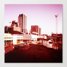 Trains to Central Canvas Print