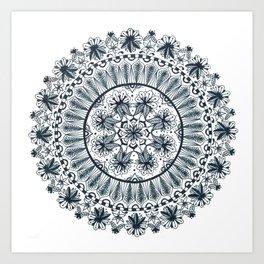 Awaken Nature Mandala Art Print