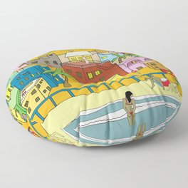 La Perla Floor Pillow