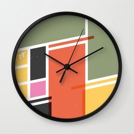 SECRET CYCLING FLAG - VOIGT Wall Clock