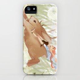 Frolicking iPhone Case