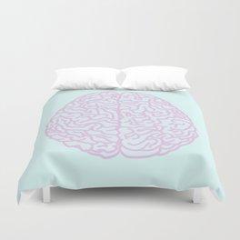 Pastel Brain Duvet Cover