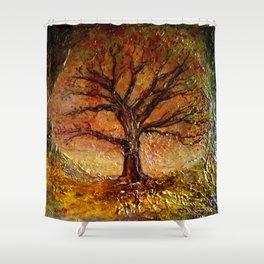 Elemental Grandeur Shower Curtain
