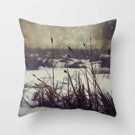 Cosmic Winter Throw Pillow
