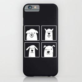 dog dog dog dog iPhone Case
