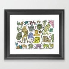 gefgefgefgefgef Framed Art Print
