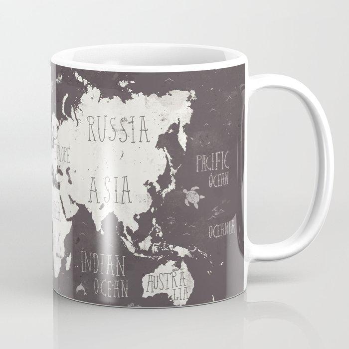 The World Map Coffee Mug By Mikekoubou Society6