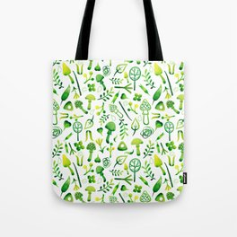 Funny pattern with mushrooms Tote Bag