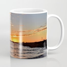 Toes Beach November Sunset Coffee Mug