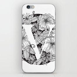 Flower V iPhone Skin