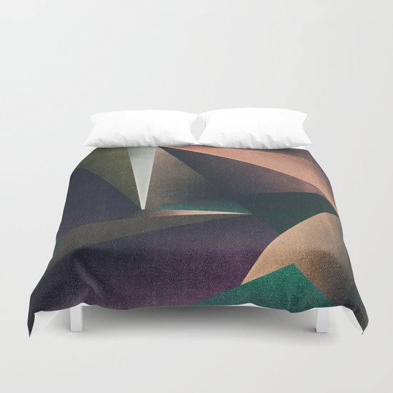 Abstract #121 (b) Duvet Cover