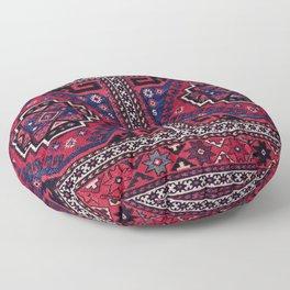 Shahsavan Mafrash Azerbaijan Northwest Persian Side Panel Print Floor Pillow