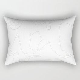 fresh tees Papa Bear T-Shirts Father's Day Shirt Papa Tshirt Father Day Gift Rectangular Pillow