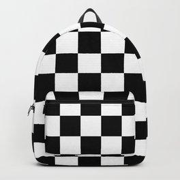 Checkered (Black & White Pattern) Backpack