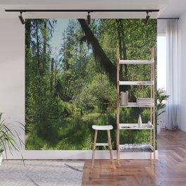 Hoh Rainforest Tones Wall Mural