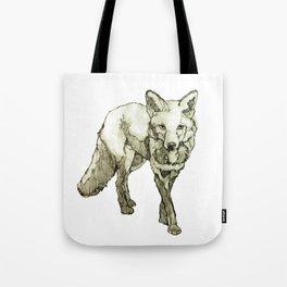 Fox Drawing Tote Bag