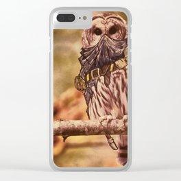 Birds In Armor Clear iPhone Case