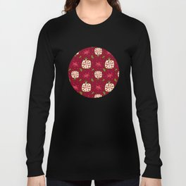 Colorful pomegranate Long Sleeve T-shirt