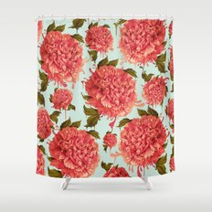 A Splash of Peony, A Dash of Color Shower Curtain