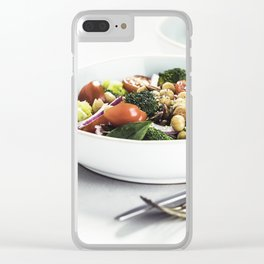 healthy salad Clear iPhone Case