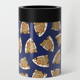Gingerbread House Pattern - Christmas Eve Can Cooler