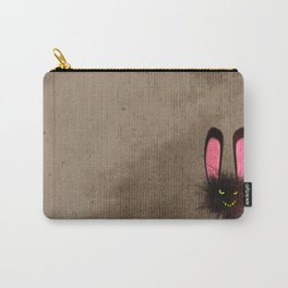 Evil Dust Bunny Carry-All Pouch
