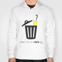 himym Hoodies featuring Thanks for this HIMYMfinal by Violet's Corner