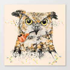 Mr.Owl II Canvas Print